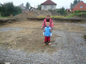 Příprava na první betonování hotova.