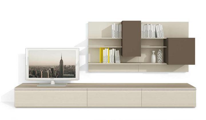 Moderné obývacie izby a obývacie steny - obývacia izba 23