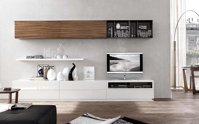 Moderné obývacie izby a obývacie steny - Obývacia izba 55