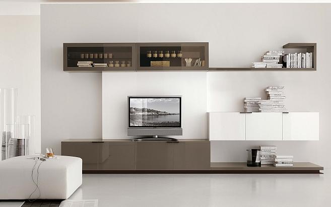 Moderné obývacie izby a obývacie steny - Obývacia izba 53