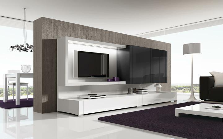 Moderné Obývacie Izby A Obývacie Steny