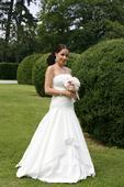 Značkové svadobné šaty, 36