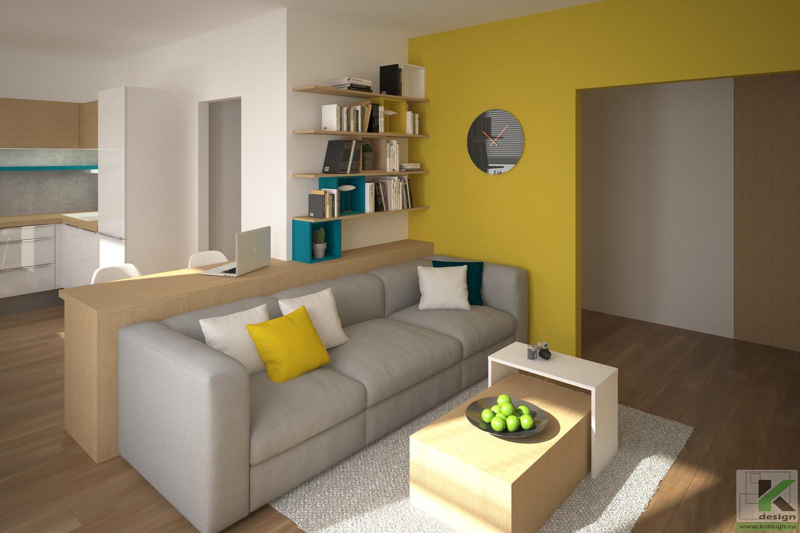 Rekonštrukcia bytu - Vizualizácie - Obrázok č. 2