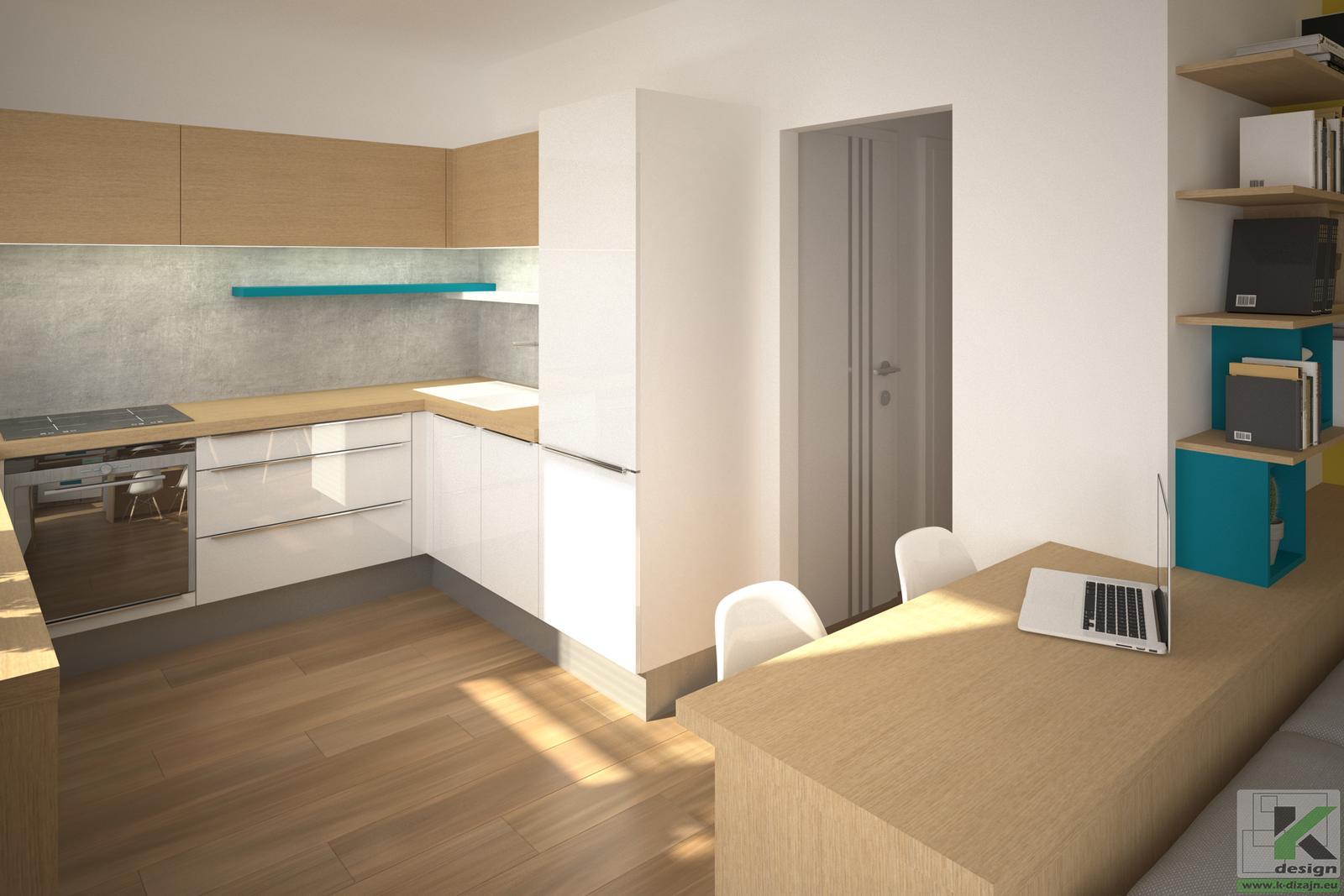 Rekonštrukcia bytu - Vizualizácie - Obrázok č. 3