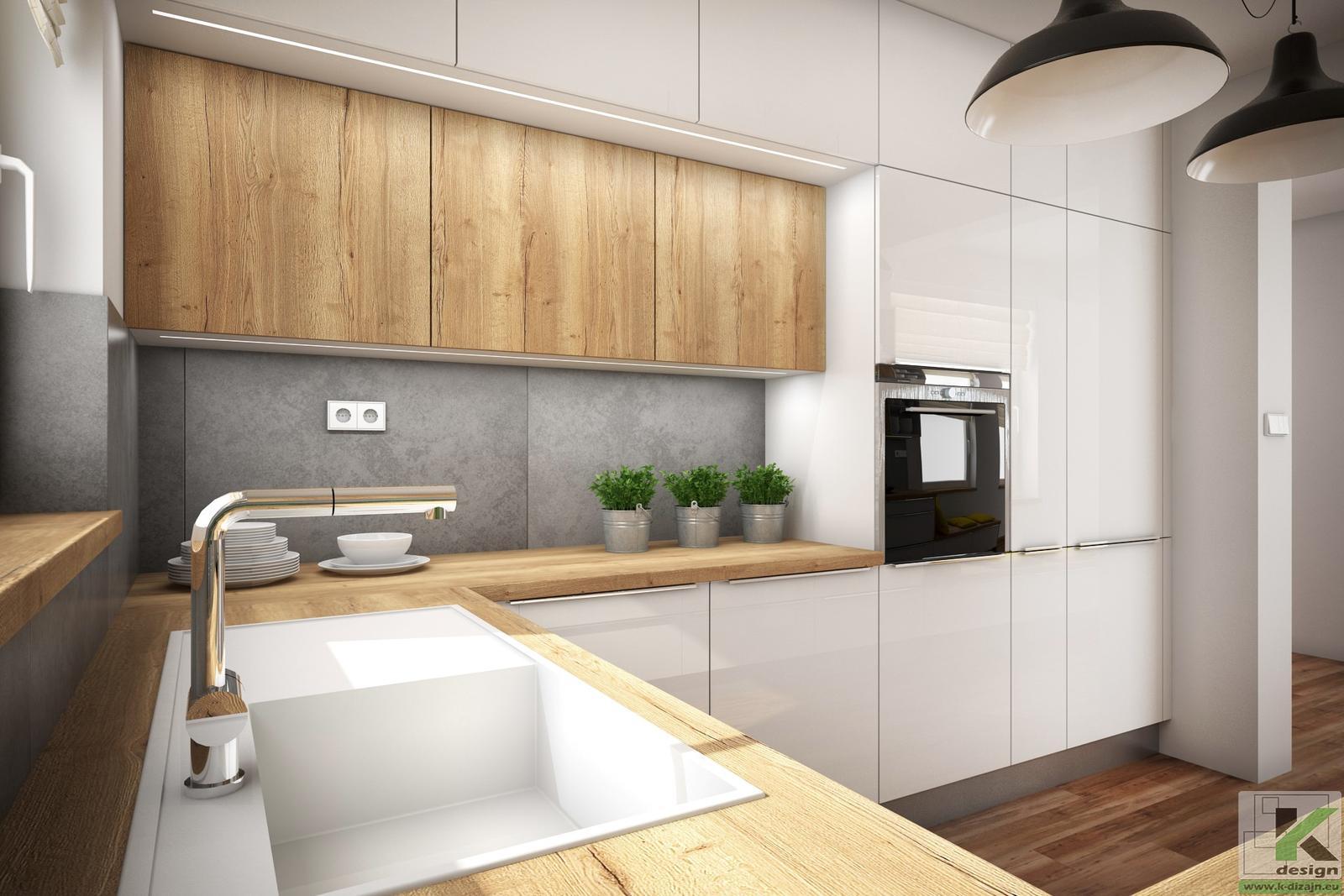 Vizualizácie kuchyne so sedením - Obrázok č. 4