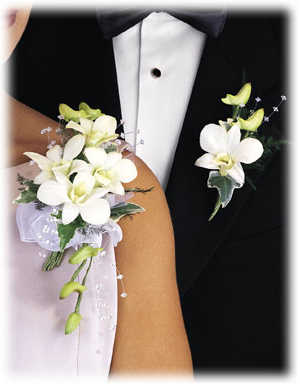 Pre svadobný gang - 2008;-) - nieco miesto kyticky..kvietkovee