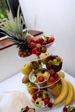 celé ovocné aranžmá