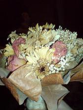 svadobna kytica 1.5 roka po svadbe