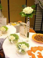 kytičky na stůl - už jsou objednané