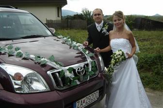 auto, v ktorom sa viezol Roman