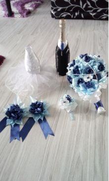 Svadobny set - moje dnešné tvorenie :)