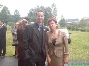 budoucí manžílek s mou mamčou