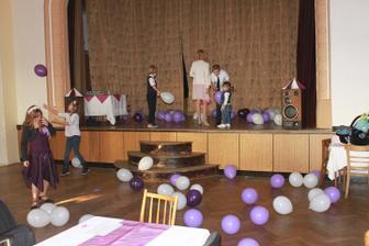 Děti měly největší radost z balónků