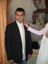 vesta a vázanka pro ženicha