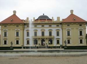 zámek Slavkov u Brna