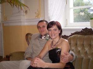 braško s manželkou