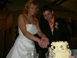krájanie dortu