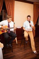moji kamarati nam zaspievali :)