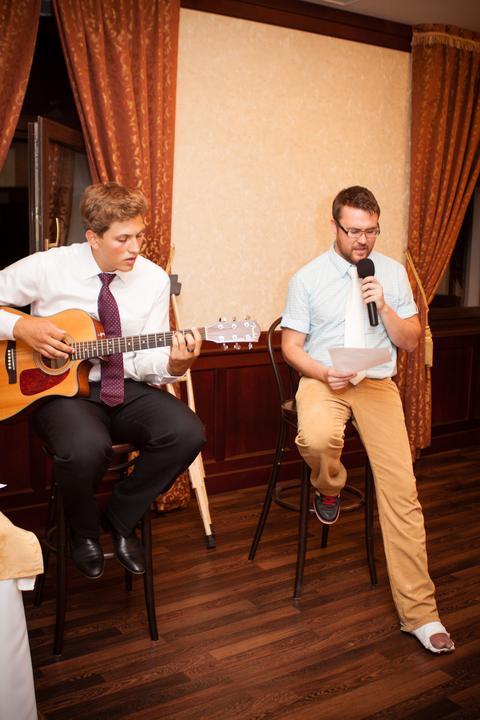 Alexandra Trubkova{{_AND_}}Peter Pacovsky - moji kamarati nam zaspievali :)