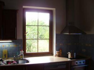 čisté okno, příprava na montáž žaluzií