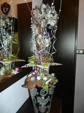 Ikebana na botníku