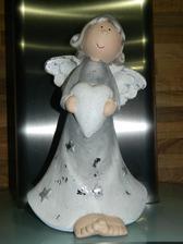Anjelik od maminky a ocina na pamiatku ...