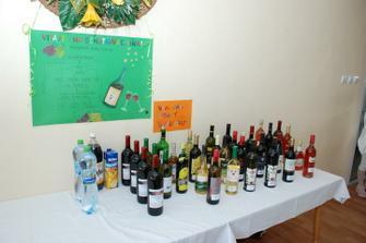 svadobná ochutnávka vína