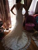 Svadobné šaty pre nízku nevestu, 34