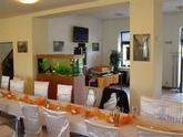 Restaurace a hotel U zlaté rybky v Tučapech - svatba syna spisovatelky Simony Monyové