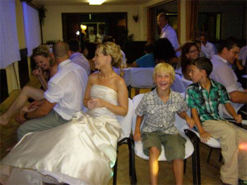 Úžasná svatba na Montelope - Radka a Radek - .....a bylo veselo.......