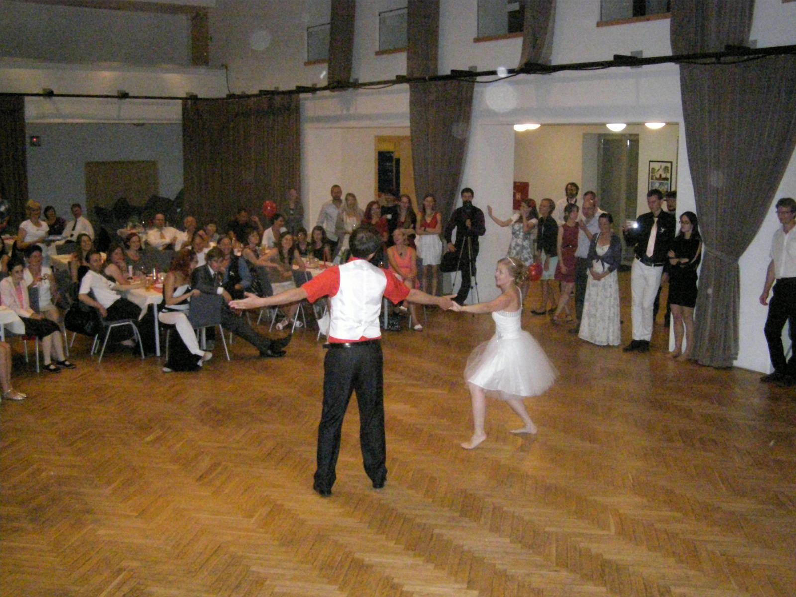 Svatba Lída Čermáková & Jiří Haut - speciální 1. novomaželský tanec