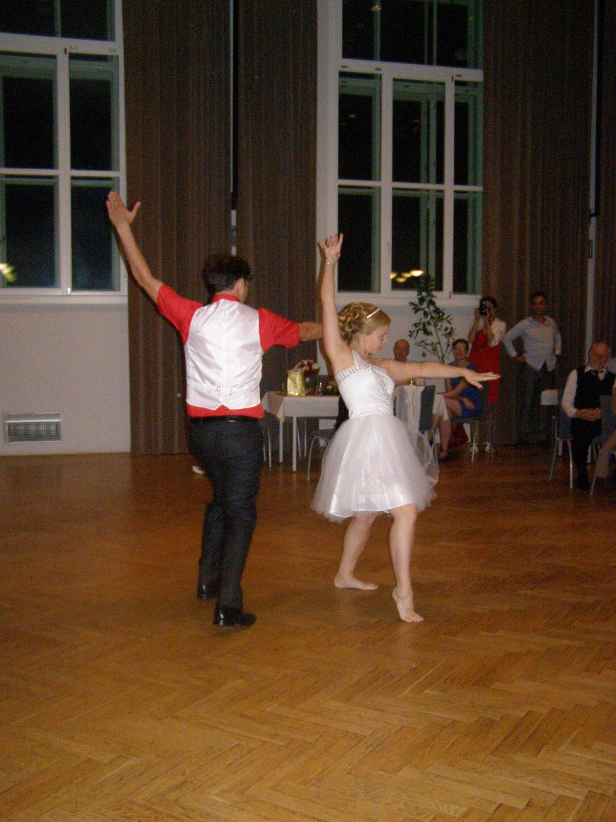 Svatba Lída Čermáková & Jiří Haut - učitelka tance se nezapře...