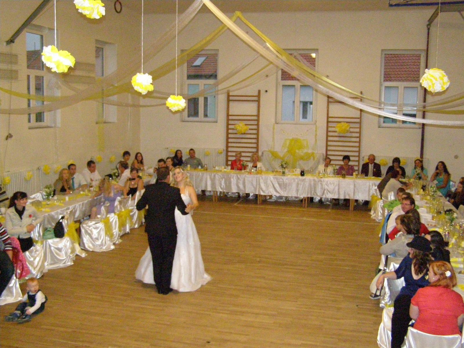 Svatba Verča a Zbyněk - první společný tanec novomanželů
