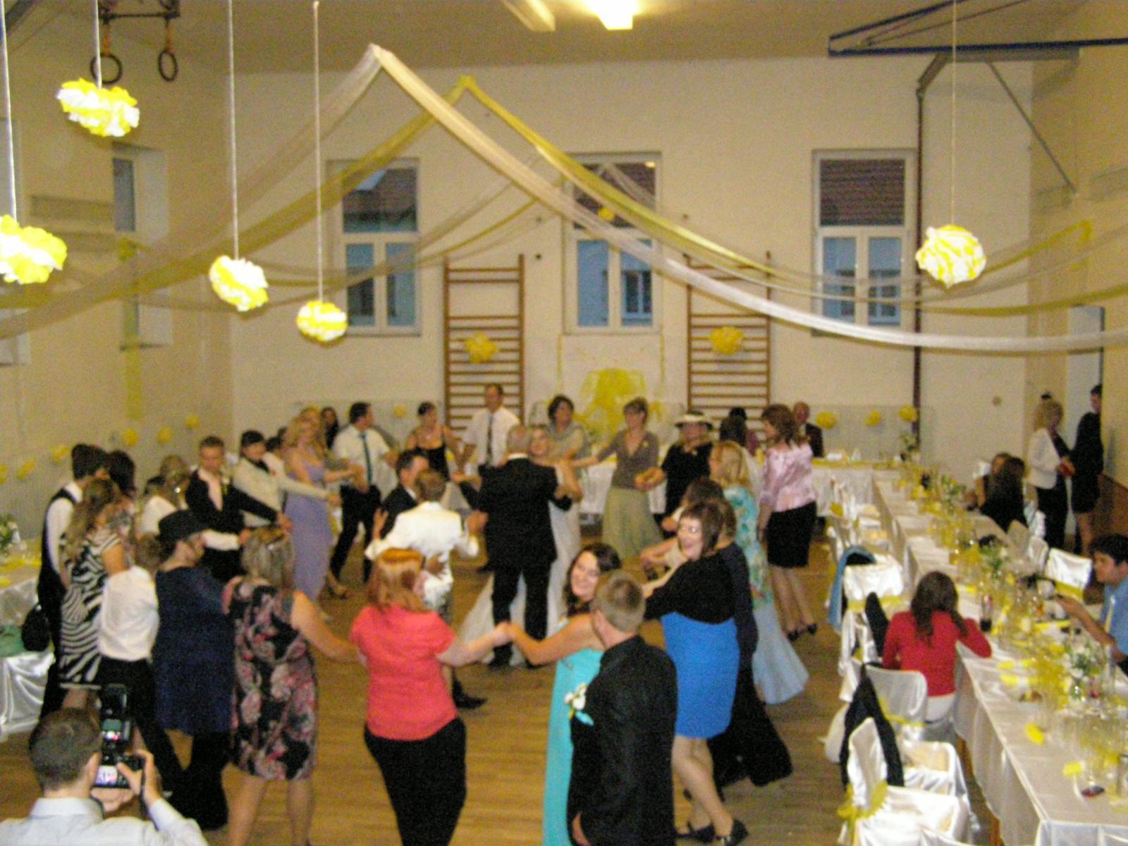 Svatba Verča a Zbyněk - a pak se už tančilo a tančilo a tančilo....