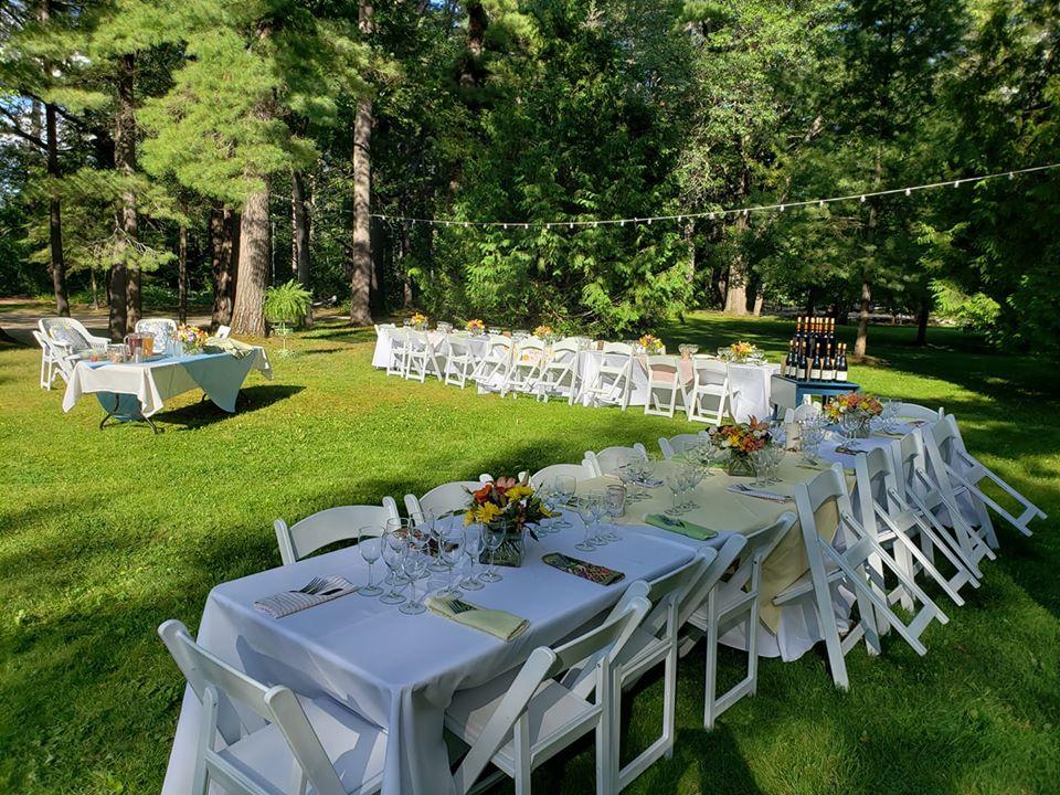 Zajímavé nápady na svatební párty v teplých letních dnech... - Obrázek č. 2