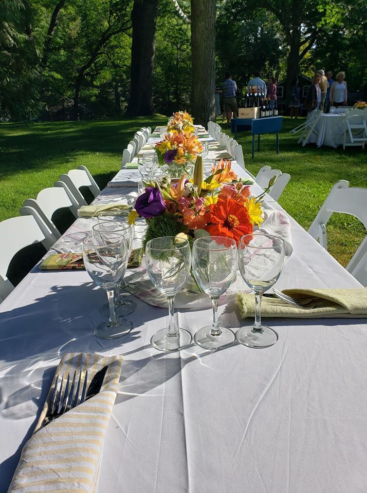 Zajímavé nápady na svatební párty v teplých letních dnech... - Obrázek č. 3