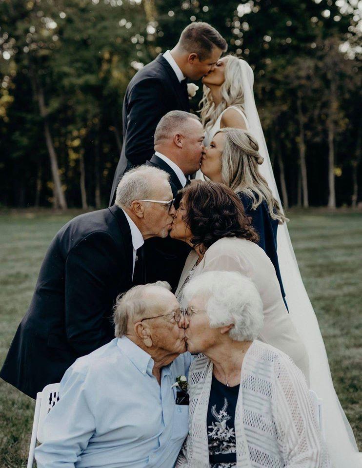 Úžasný nápad na skvělé svatební foto - Obrázek č. 1