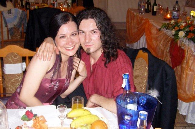 Bracek Stanko s priatelkou Saskou