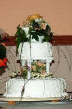 nasa torticka-dakujeme mamke a ockovi