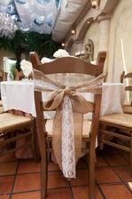 ozdoby na stoličky