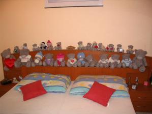 tak tohle všechno jsou naši miláčci medvídci...