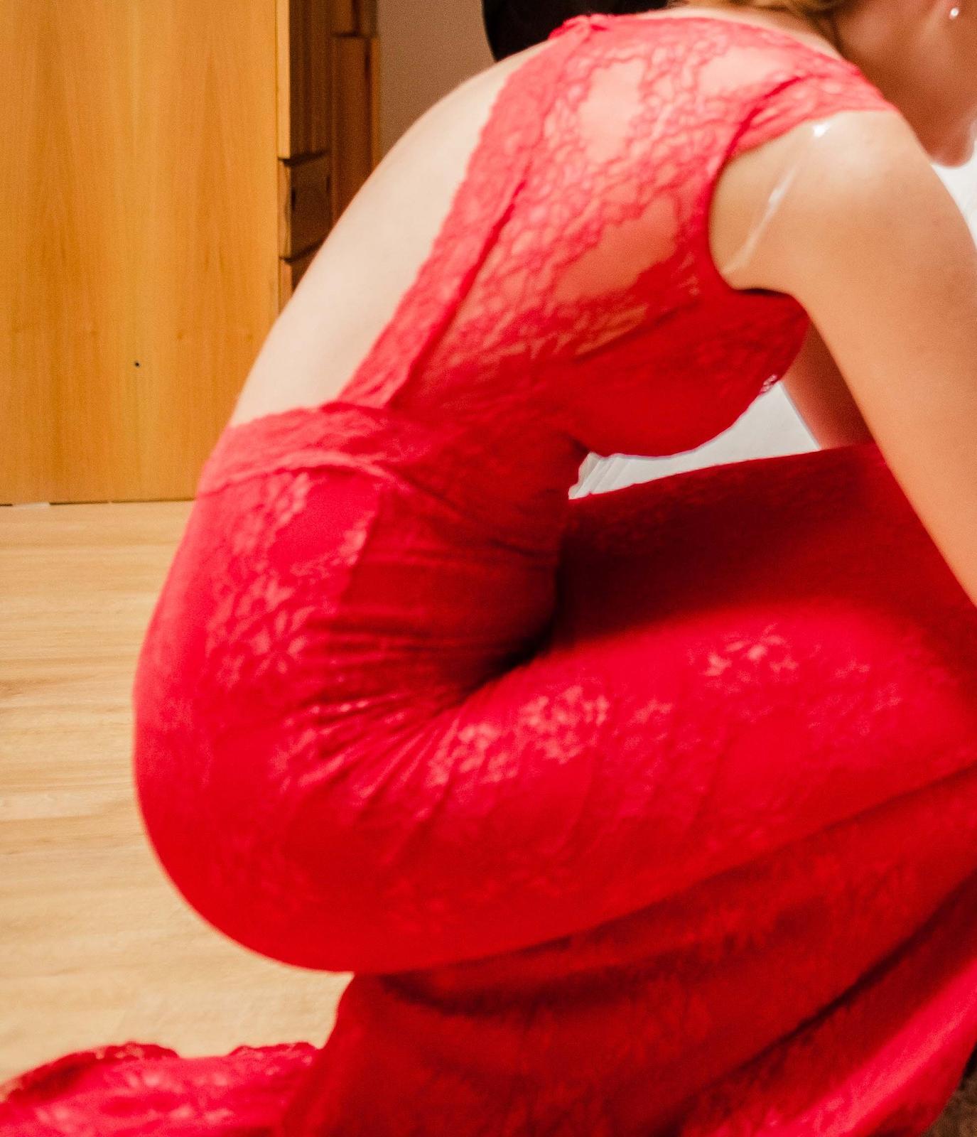 Dlhé šaty - oblečené 2x - Obrázok č. 4