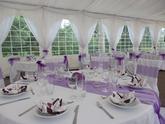 svadobný stôl v pártystany