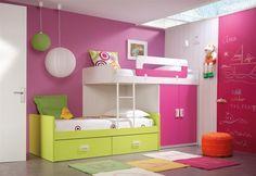 Farebná inšpirácia z netu do detskej izbičky