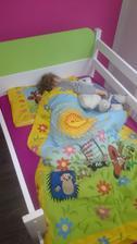 1.krat spala vo svojej izbicke :)