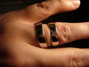Nase krasne prstienky, uz sa nemozme dockat, kedy ich budeme moct nosit..