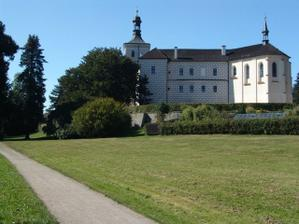 jižní křídlo zámku