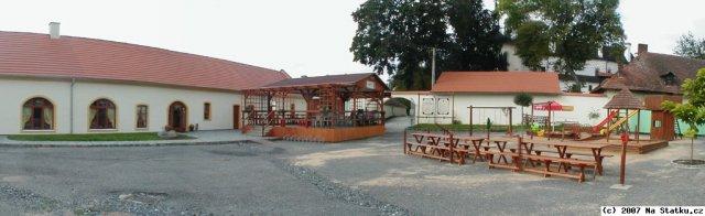 restaurace Na Statku, kde proběhne hostina (pouze obídek:-)