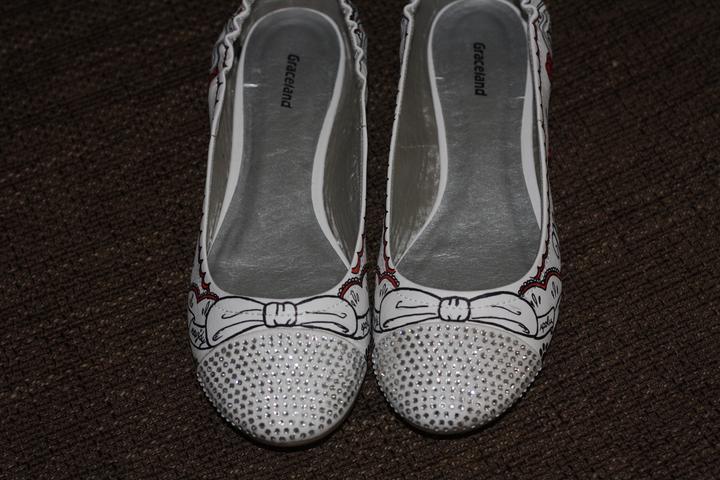 Svadobné a iné ručne maľované topánky - Obrázok č. 17