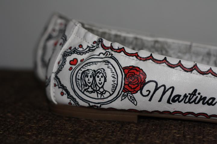 Svadobné a iné ručne maľované topánky - Obrázok č. 21